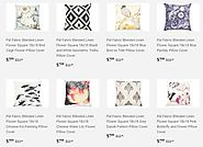 Shop Pal Fabric collection for throw pillows