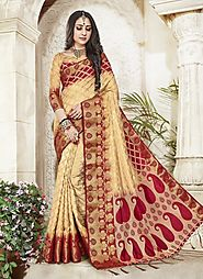 Buy Luxury Saree – Rajwada Sarees