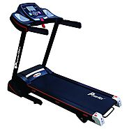 Powermax Fitness TDM-100S Motorized Treadmill