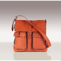 SUGARJACK Gabi Baby Changing Bag in Burnt Orange