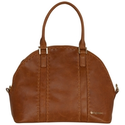 BabyBeau Eden Leather Changing Bag, Brown