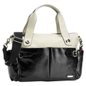 Storksak Kate Changing Bag, Black/White