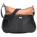 Storksak Nina Changing Bag in Black and Tan