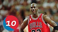 Michael Jordan Top 10 Plays of Career