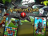 Adventure Quest Battle GemsA fantasy-themed puzzle game