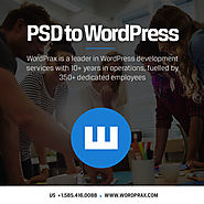 convert PSD to Theme conversion - Wordprax