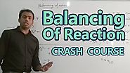Chemistry | Balancing of Reaction | NEET Crash Course | by Ankit Sir