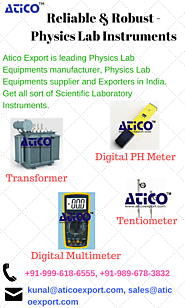 Physics Lab Instruments - Manufacturer and Supplier - Best in India