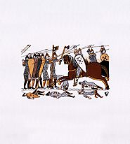 Meticulous Battle of Hastings Embroidery Design | EMBMall