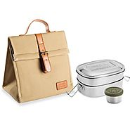 Shop Bento Stainless Steel Adult's Lunch Container | Seed & Sprout