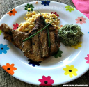 Soy Sauce Grilled Tilapia and Pork Chops Recipe
