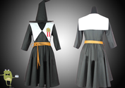 Magi Aladdin Magnostadt Academy Cosplay Costume + Wig
