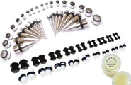 Bodfx. 72 TOTAL Piece Ear Stretching Kit
