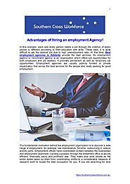 Advantages of hiring an employment agency adelaide
