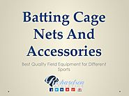 Find Different Collection for Batting Cage Nets and Accessories_Richardson Athletics