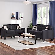 Zipcode Design Amia 2 Piece Living Room Set & Reviews | Wayfair