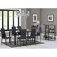 Latitude Run Rosenzweig Dining Set & Reviews | Wayfair