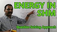 NEET Physics - Energy in SHM (Crash Course Video) by Satyender Tripathi sir