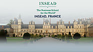 Insead The Business School for the World.