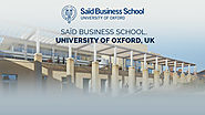 Said Business School University of Oxford, UK