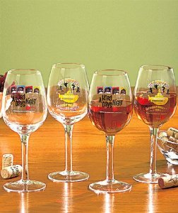 Beatles - The British Invasion - Wine Glass Set - Set Of 4 -12 oz : Amazon.com : Kitchen & Dining