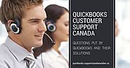 Questions Put by QuickBooks and their solutions