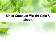Major Causes of Weight Gain & Obesity