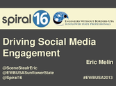 Driving Social Media Engagement for Nonprofits
