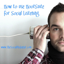 How to use HootSuite for Social Listening