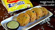 noodles cutlet recipe | maggi masala noodles cutlet | veg noodles cutlet