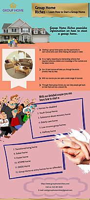 How to start a Group Home | Group Home Riches