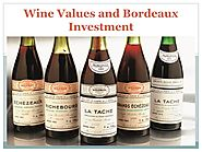 Wine values and bordeaux investment by Wine Auction Prices