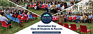Orientation Day for New Class IX Students and their Parents