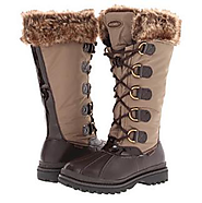 Womens Knee High Waterproof Snow Boots via @Flashissue