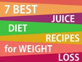 7 Best Juice Diet Recipes for Weight Loss
