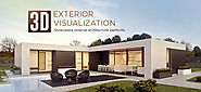 3D exterior visualization: Showcasing external architecture perfectly