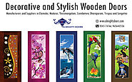 Decorative/Designer Wooden Doors Manufacturers in Tamilnadu – Almighty Doors