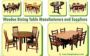 Leading Wooden Dining Table Set Manufacturers and Suppliers in Tamilnadu – Almighty Doors