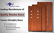 Leading manufacturer of Wooden Main Doors, Wooden Furnitures – Almighty Doors