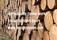 Timber Works Dealers | Timber Service Provider | Wood Works Exporter – Almighty Doors