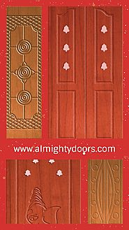 Decorative Wooden Doors | Furnished Wooden Main Doors | Stylish Wooden Front Doors – Almighty Doors