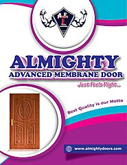 Wooden Membrane Doors and PVC Wooden Membrane Doors Suppliers/Manufacturers – Almighty Doors