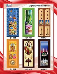 Digital UV Printed Wooden Windows and Doors Manufacturers – Almighty Doors