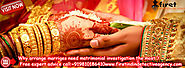 Pre Matrimonial Detective Agency - First Indian Detective Agency