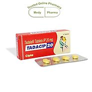 Website at https://www.medypharma.com/mens-health/buy-tadacip-20-mg-online.html