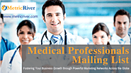 Medical Professionals Mailing List