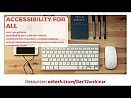 EdTechTeam Teaching and Learning Live: Accessibility for All