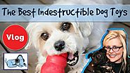Indestructible Dog Toys! for Aggressive Chewers, Strong Dog Toys