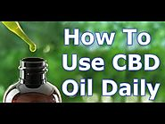 How To Use CBD Oil Everyday