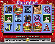Play Kitty Glitter mobile slot online with £20 promo code bonus here.
